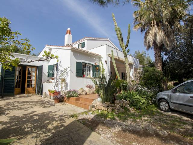 Villa in the quiet hamlet of Trebaluger, Es Castell. Menorca