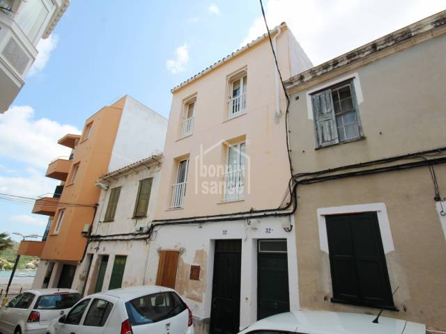 First floor Flat close to the centre of Mahon, Menorca.